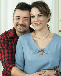 Bettina und Haris Mahmutovic